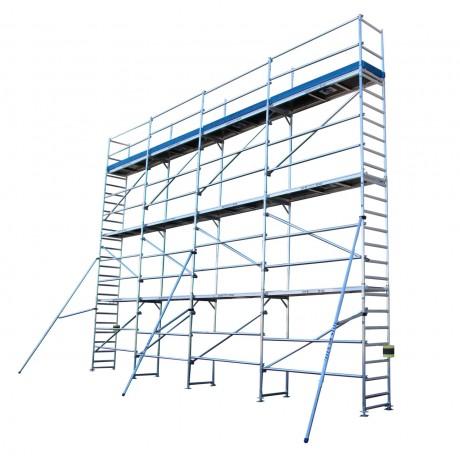 Andamios de aluminio para fachada