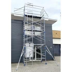 Elevador para montaje de placas solares 8,20 altura