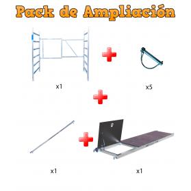 Ampliación para Andamio plegables 6,50m Modulo E