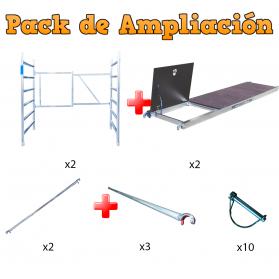 Ampliación para Andamios a 7,50m Modulo F