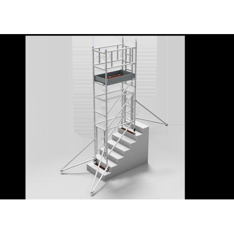 Andamio para escalera