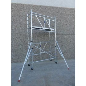 Andamio plegable aluminio Modelo C (ampliable )altura 4,60