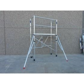 Andamio plegable aluminio 3,85m