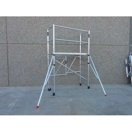 Andamio plegable aluminio Modelo B
