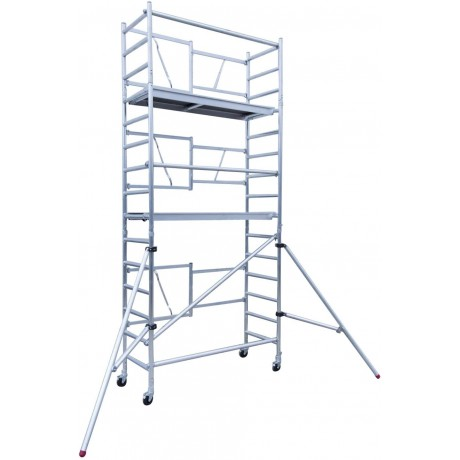 Andamio aluminio profesional altura 6.50m
