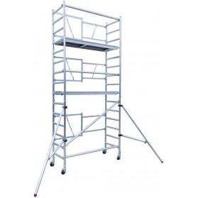 Andamio aluminio profesional altura 7,50m