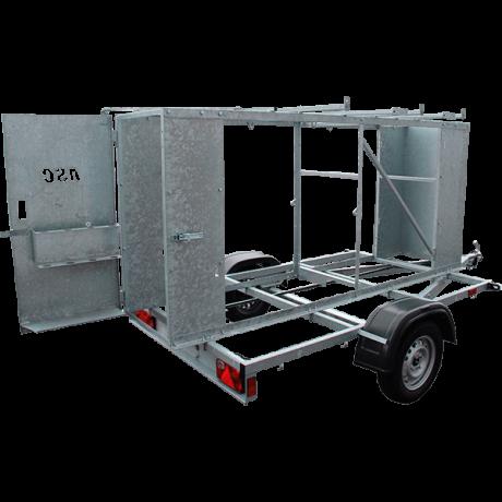 X Carrier remolque para torres moviles