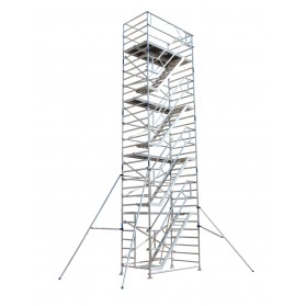 Andamio Torre movil con escalera interior 135x190cm altura 4,30