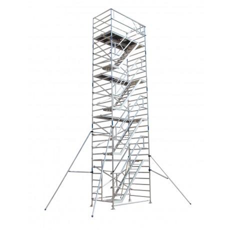 Andamio Torre movil con escalera interior