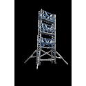 Torre Móvil Máxima Seguridad Barandilla AGS Pro 75X190m altura de trabajo 6,30m