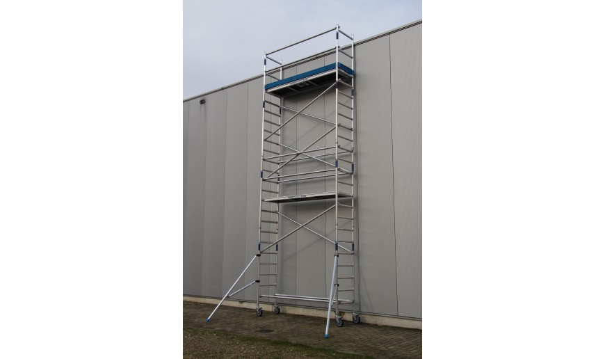 Torres móviles de Aluminio estrecho (75cm x 1,90cm)